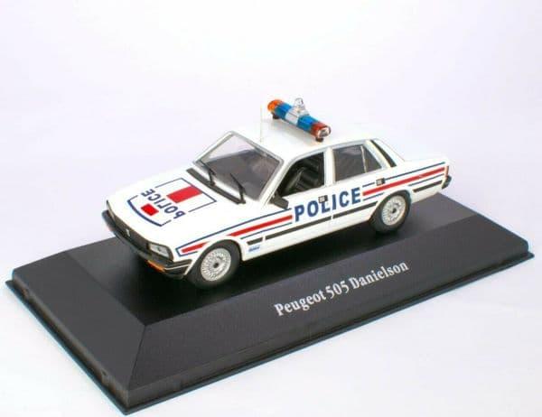 Atlas KW80 1/43 O Scale Peugeot 505 Danielson France - 1983
